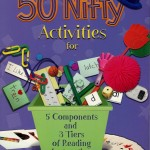 Berman Editorial: Image of educational book I edited, 50 Nifty Activites for 5 Components and 3 Tiers of Reading Instruction, by Judith Dodson