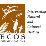 Berman Editorial: Logo of a client, ECOS Communications