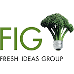 Berman Editorial: Logo of a client, The Fresh Idas Group